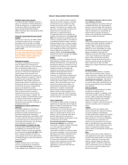 Reglas y regulaciones para expositores ()