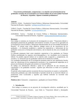 Perona Voras Sassaroli - Asociación Uruguaya de Ciencia Política