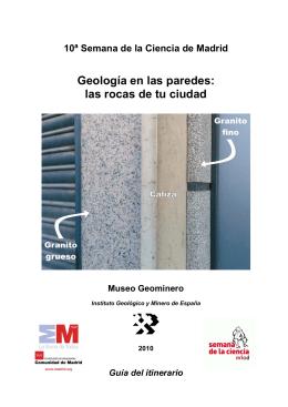 Geología en las paredes: las rocas de tu ciudad