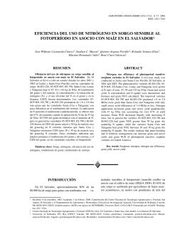 Castaneda- eficiencia uso N2 - Ministerio de Agricultura y Ganadería