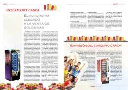 INTERMEDIT CANDY El FuTuRO HA llEGADO A lA