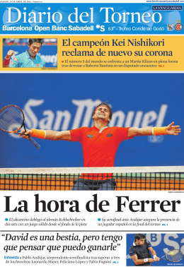 corner - Barcelona Open Banc Sabadell