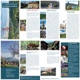 Nuestro nuevo folleto 2015