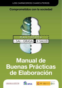Manual de Buenas Prácticas de Elaboración