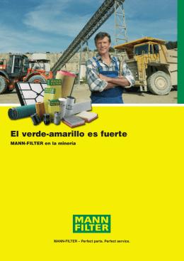MANN-FILTER en la minería