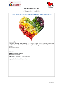talleres saludables pdf