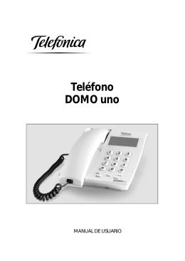 Manual Domo Uno - Universidad Pública de Navarra