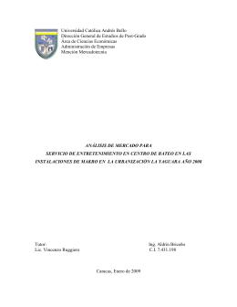 Tesis en pdf - Universidad Católica Andrés Bello