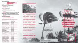 Storm Debris Management - Spanish