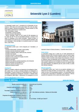 Université Lyon 2 (Lumière)