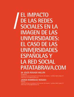 El impacto de las redes sociales en la imagen de las universidades