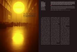 Olafur Eliasson - Escuela de Diseño UC