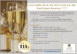 Descargar Programa. - Hotel Guitart Monterrey