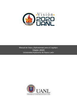 Visión 2020 - Facultad de Ciencias Biológicas de la UANL