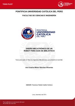 Repositorio Digital de Tesis PUCP - Pontificia Universidad Católica