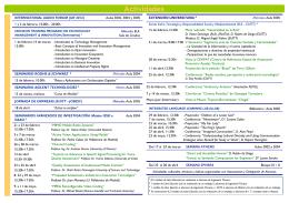 Program - Universidad Politécnica de Madrid