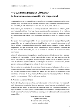 Retiro Cuaresma 2013