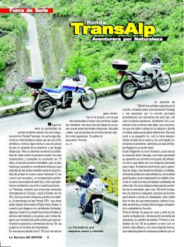 Transalp 650 / Edición 33