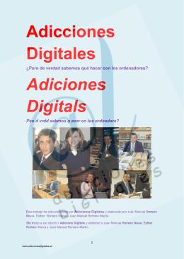 """Libro """"Adicciones Digitales"""""""