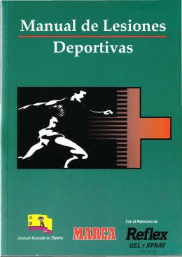 Manual de Lesiones Deportivas.