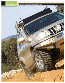 Toyota Land Cruiser KDJ 120 - Abril 2012 - ARC