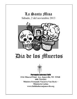Dia de los Muertos - Faith Lutheran Church