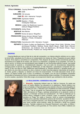 FILM-FICHA Copying Beethoven