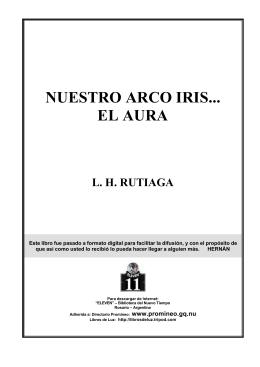 Rutiaga, L H - Nuestro Arco Iris El Aura