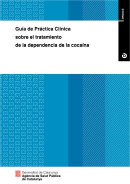 guía de práctica clínica sobre tratamiento dependencia cocaina
