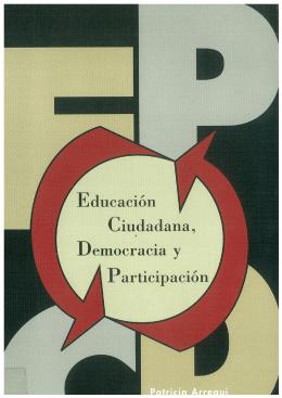Educación ciudadana, democracia y participación