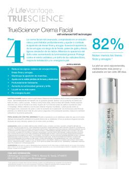 TrueScience® Crema Facial