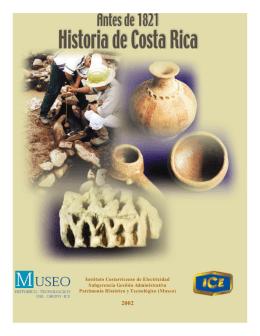 Historia de Costa Rica antes de 1821