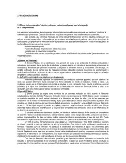 3. TECNOLOGÍAS DURAS 3.1 El uso de los