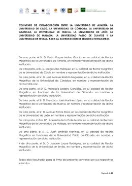 Convenio - Instituto de Idiomas