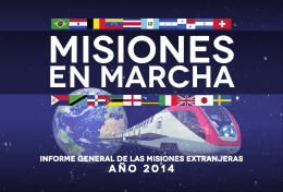 Año 2014 - Iglesia Pentecostal Unida de Colombia