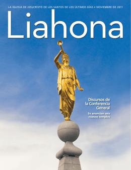Noviembre de 2011 Liahona