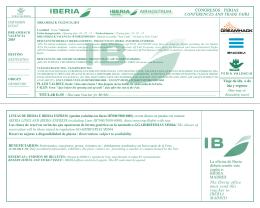 Cédula de descuento IBERIA