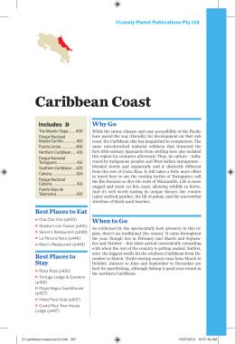 Costa Rica - Caribbean Coast