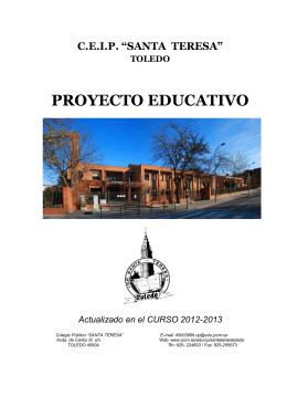 documento completo proyecto educativo