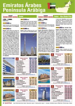 Emiratos Árabes Península Arábiga
