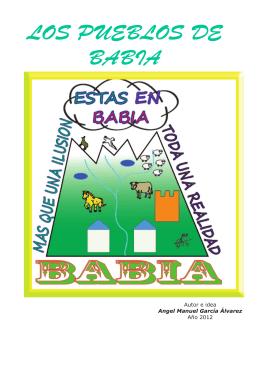 LOS PUEBLOS DE BABIA - Universidad de León