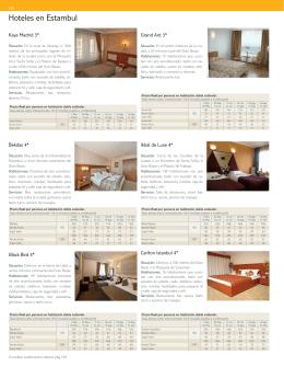 Hoteles en Estambul