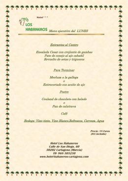 """Restaurante """"Los Habaneros"""""""