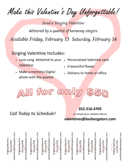 Make this Valentine`s Day Unforgettable!