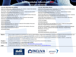Curso Enfermedades Infecciosas VIH