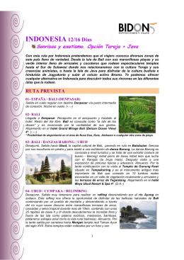 Indonesia. Sonrisas y exotismo. P68