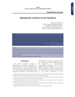 Hiperplasia nodular focal hepática