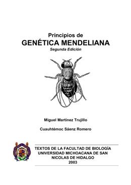 Principios de Genética Mendeliana