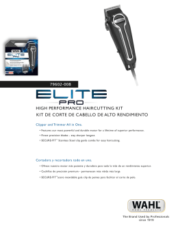 HIGH PERFORMANCE HAIRCUTTING KIT KIT DE