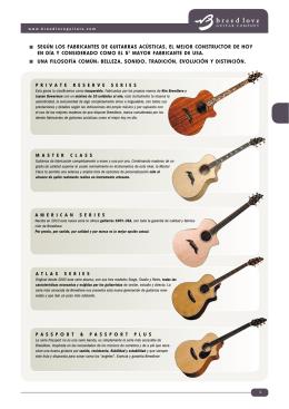 Según loS fabricanteS de guitarraS acúSticaS, el mejor conStructor